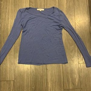 Periwinkle top from the loft